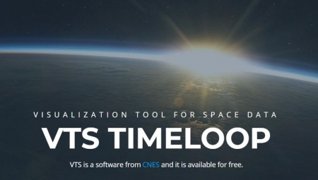 new illustration SPACEBEL Develops VTS, the Visualisation Tool for Space Data of CNES