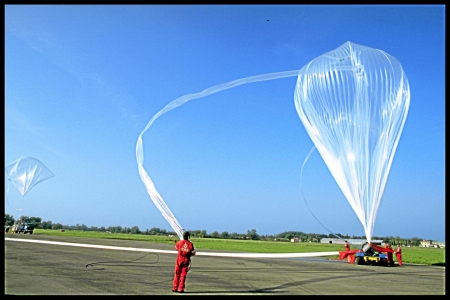 new illustration SPACEBEL Helps to Control CNES Stratospheric Balloons