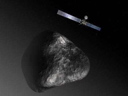 new illustration Rosetta and SPACEBEL
