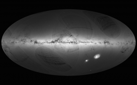 new illustration Gaia Successfully Scanning the Milky Way with Significant SPACEBEL Contribution
