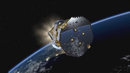 new illustration LISA Pathfinder Performing Extremely Well… with SPACEBEL Software