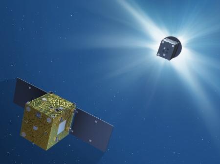 new illustration Proba-3, ESA's Future Sun Watcher, a Major SPACEBEL Project