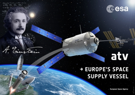 new illustration VTS : the Link between SPACEBEL and ESA's ATV-4 Albert Einstein
