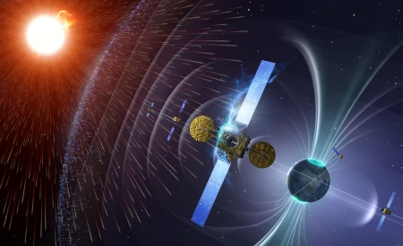 new illustration SPACEBEL to Provide Space Weather Portal Services for ESA's Space Situational Awareness Preparatory Programme