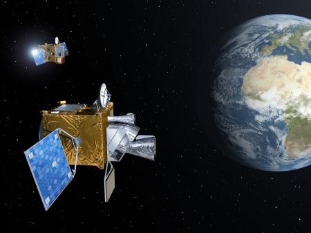 new illustration SPACEBEL Signing Important Meteosat Third Generation Deal