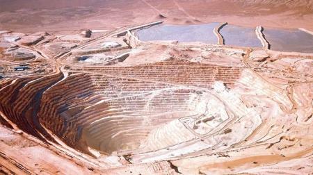 new illustration Minera Escondida: A Copper Mine for SPACEBEL
